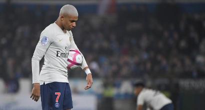 Ligue 1: Cavani salva il Psg, pareggio a Strasburgo
