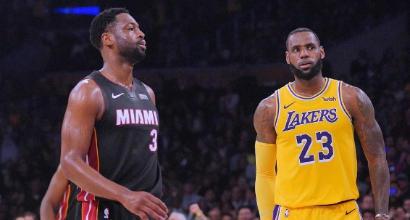 Nba: super Gallinari guida alla vittoria i Clippers, LeBron si aggiudica l'ultimo ballo contro Wade