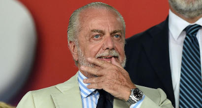"""Napoli, AdL pizzica la Juve: """"Che senso ha vincere con 200 mln di debiti?"""""""