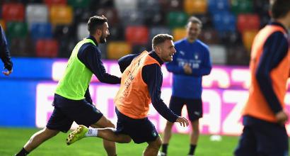 Italia, Azzurri subito in campo pensando al Liechtenstein