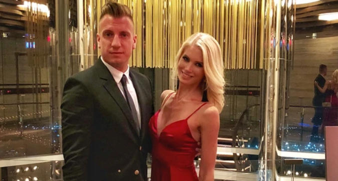 "Daniela Christiansson: ""Io e Maxi Lopez in Brsile come una coppia di Barbie"""