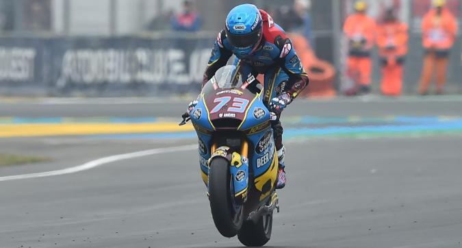Moto2 Francia: trionfa Marquez, giornataccia per gli italiani