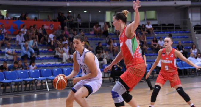 Basket, Europei femminili: l'Italia cade contro l'Ungheria 59-51
