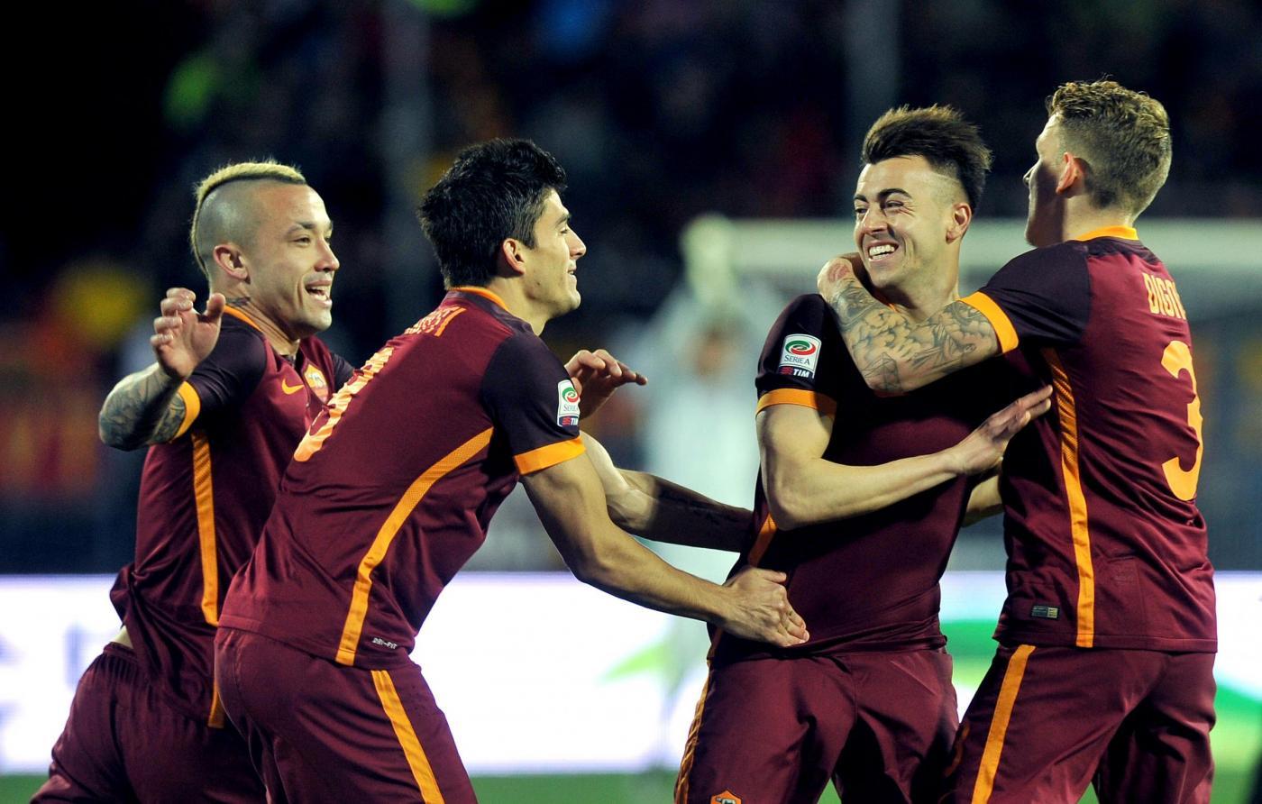 Empoli-Roma 1-3, le foto del match