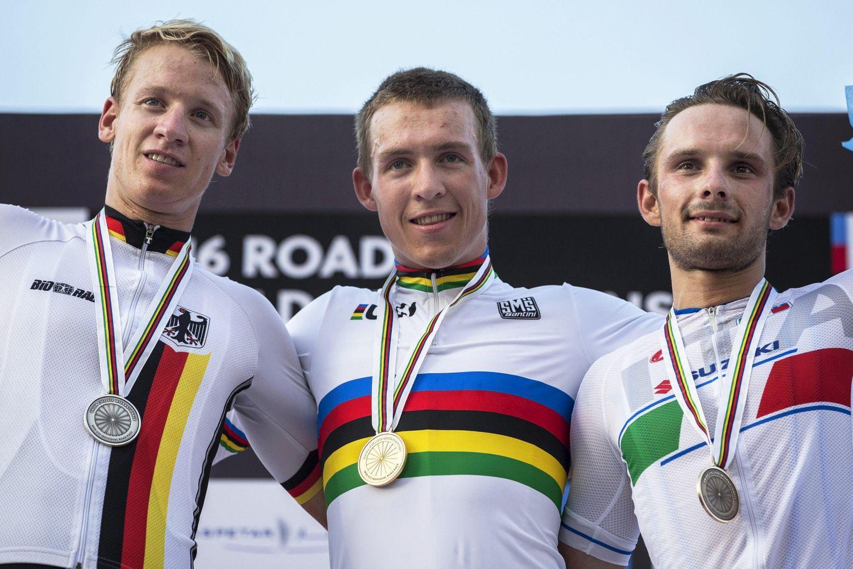 Ciclismo, Mondiali 2016: Mareczko di bronzo