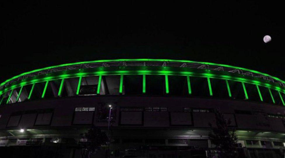 Chapecoense, stadi e monumenti verdi in segno di lutto