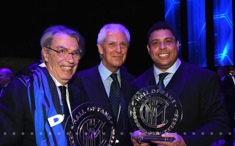 Massimo Moratti, Marco Tronchetti Provera e Ronaldo