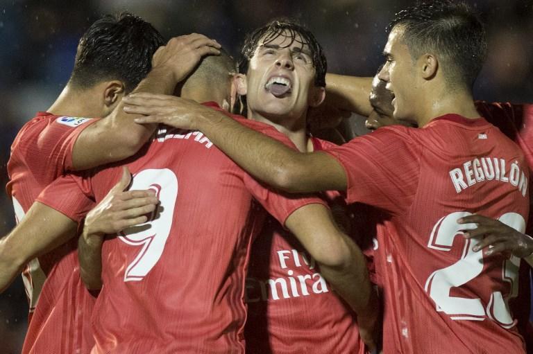 Esordio vincente per Solari sulla panchina del Real Madrid, che in casa del Melilla vince 4-0 nell'andata dei sedicesimi di Coppa del Re. I merengues festeggiano con Benzema, Asensio, Odriozola e Cristo Gonzalez.