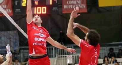 Piacenza volley, foto tratta dal sito ufficiale
