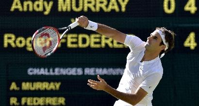 Federer, Foto Ansa