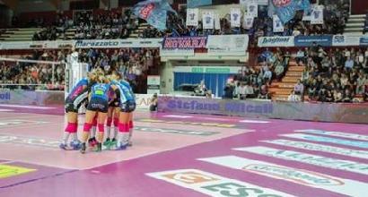 Volley, A1 femminile: tutto facile per Novara e Modena