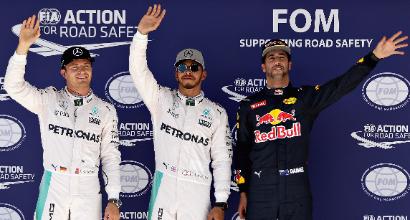 """F1 a Austin, Hamilton: """"Mi sento alla grande"""""""
