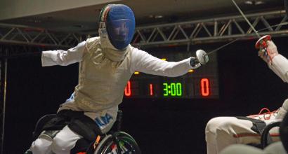 Mondiali paralimpici di scherma: oro per Bebe Vio nel fioretto a squadre