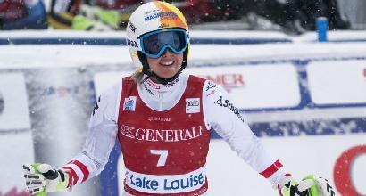 Sci alpino, Coppa del Mondo: super Huetter nella discesa a Lake Louise