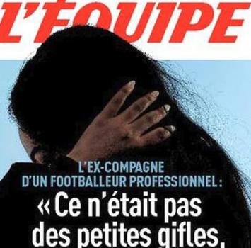 """L'Equipe-shock:""""Picchiata da un calciatore di Ligue 1"""""""