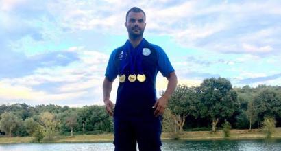 Sci nautico paralimpico, grande Italia agli Europei 2018: Cassioli è il re con 5 medaglie d'oro