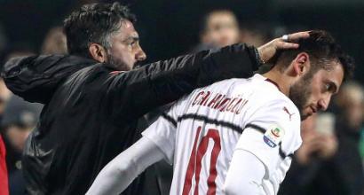Milan, Calhanoglu più forte di mercato e fischi: così Gattuso l'ha rilanciato