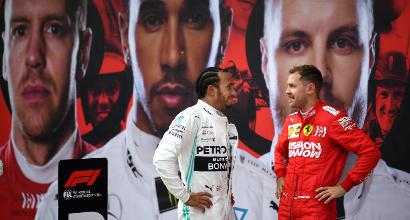 """Ferrari, Vettel: """"Mercedes troppo veloci"""""""