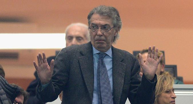 """Moratti: """"Conte all'Inter andrebbe bene. Mou alla Juve? La prenderei male"""""""