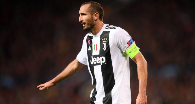 """Chiellini sicuro: """"La Juve avrà un grande allenatore. Conte all'Inter? Spero non vinca"""""""