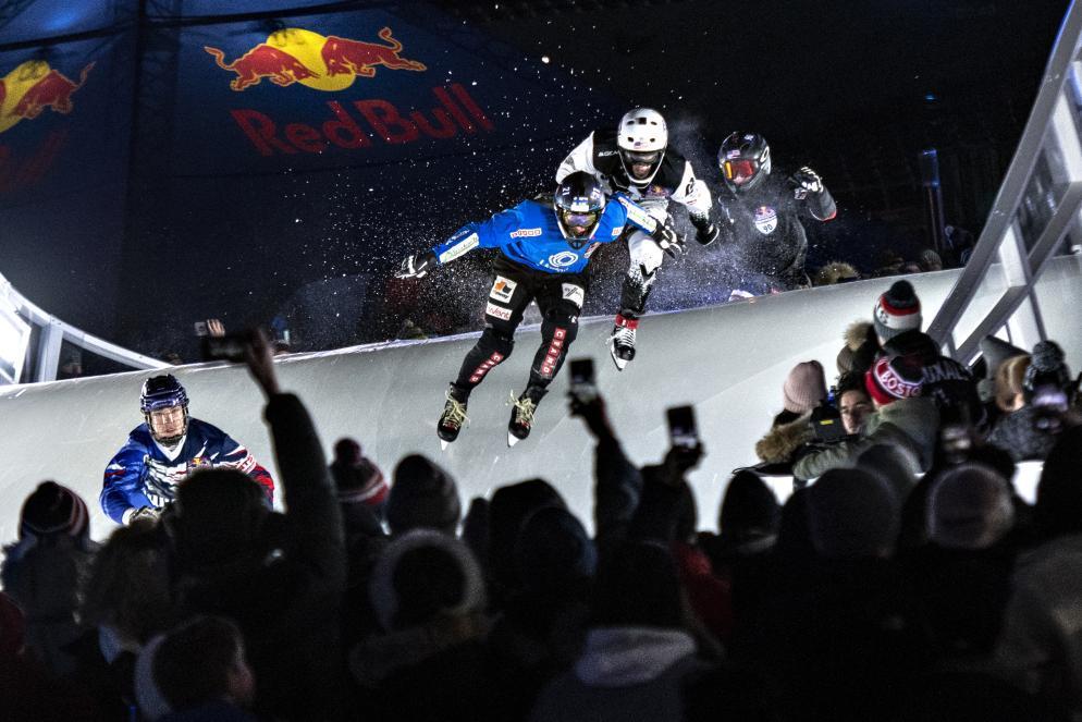 Le emozioni del Red Bull Crashed Ice in prima persona