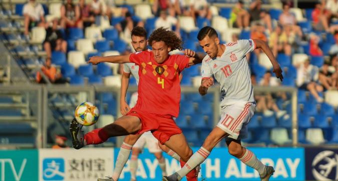 Europei Under 21: Fornals tiene viva la Spagna, 2-1 al Belgio