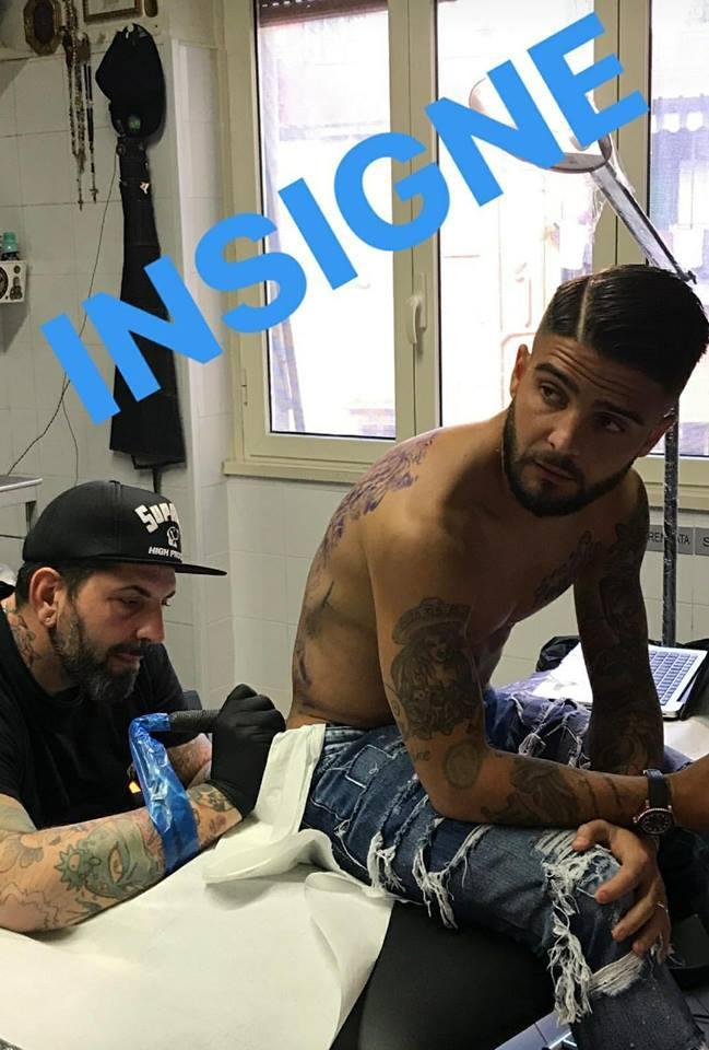 Napoli, il ruggito di Insigne: il nuovo tatuaggio