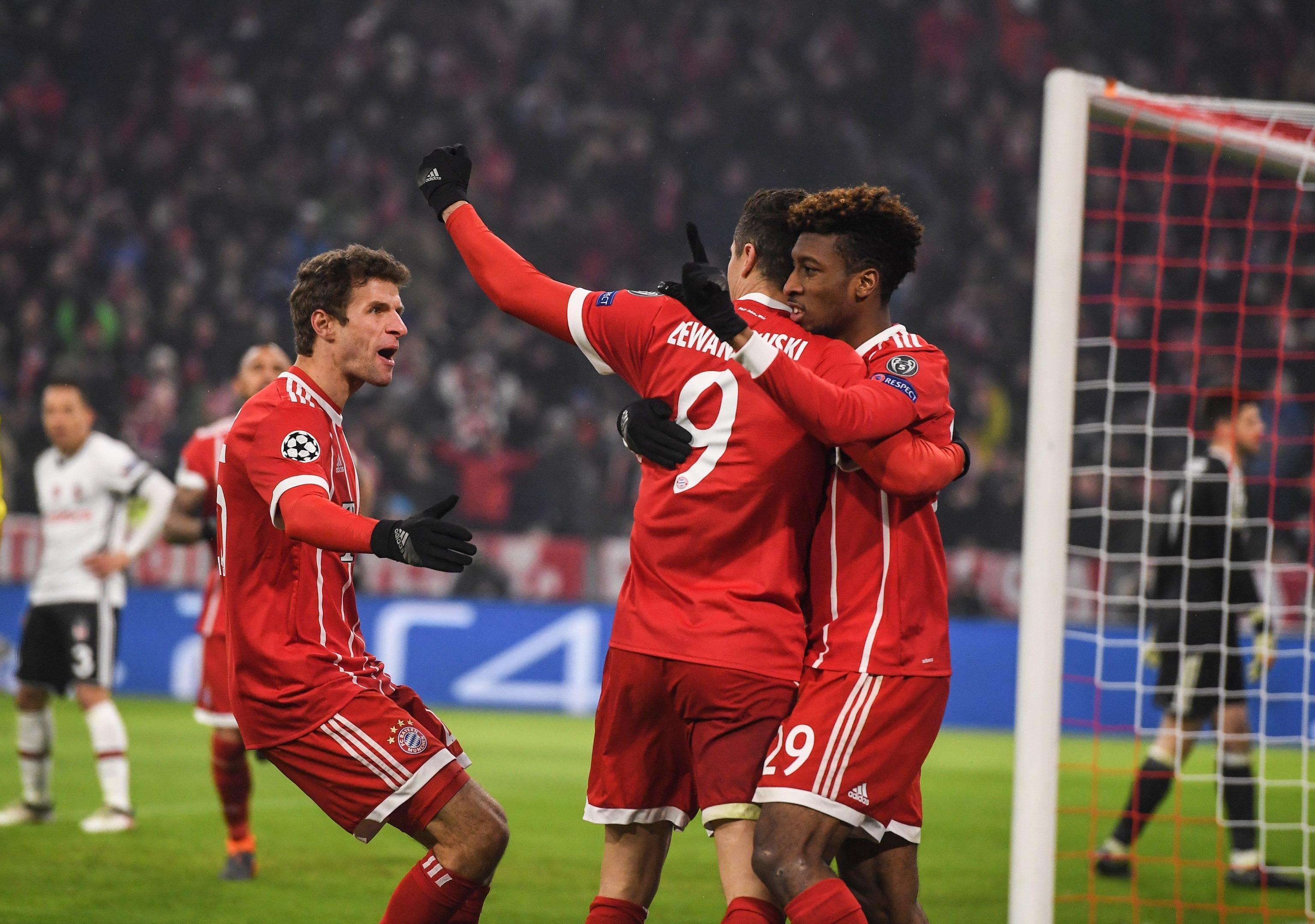 Bayern-Beskitas: Heynckes vede i quarti
