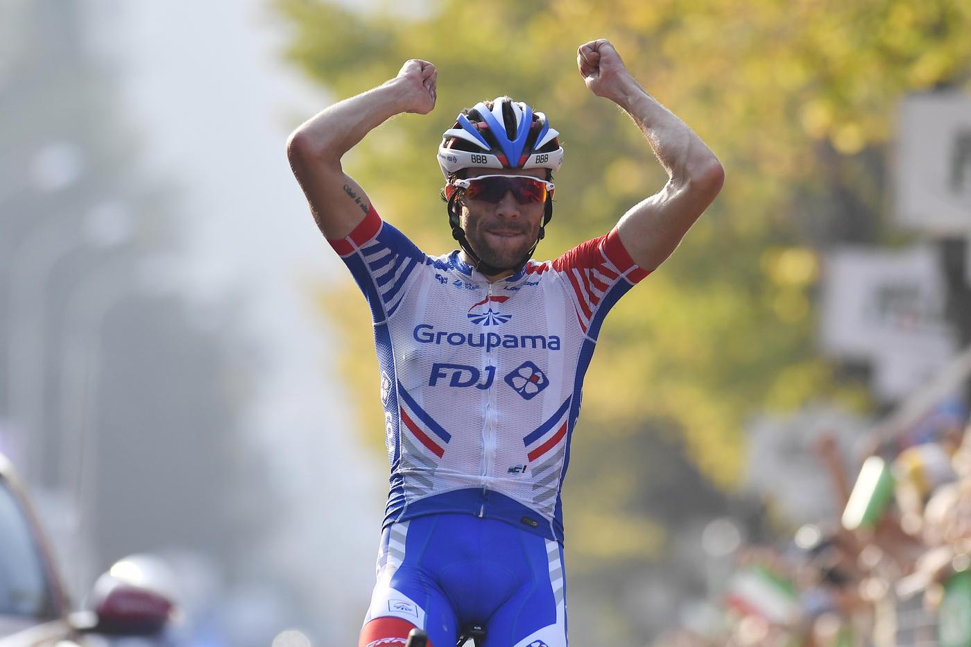 Pinot vince il Giro di Lombardia, battuto Nibali