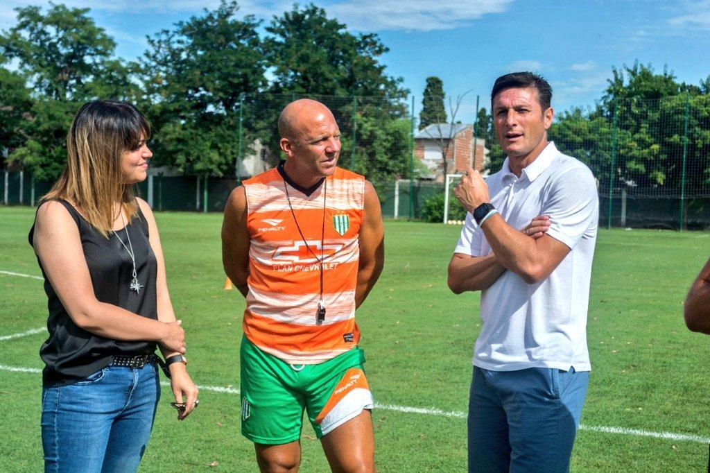 Zanetti torna al... Banfield di Crespo