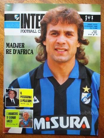 Madjer, il tacco di Allah: qui con la maglia dell'Inter, affare già fatto e poi saltato per i problemi fisici dell'attaccante algerino. In nerazzurro arrivò così Ramon Diaz: era la stagione 88/89, quella dello scudetto dei record