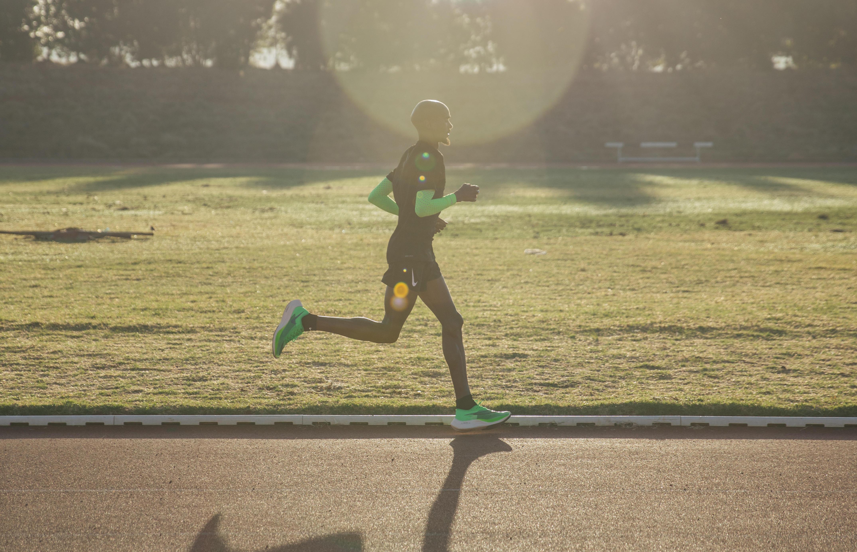 L'idolo di casa correrà la maratona di Londra con le ZoomX Vaporfly NETX%