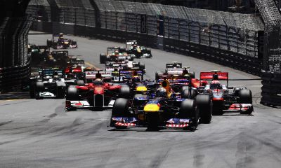 La partenza del GP di Monaco (Getty Images)