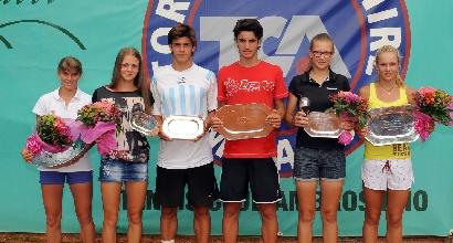 Le giovani promesse del tennis, foto Francesco Panunzio