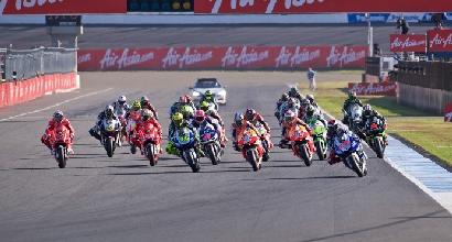 Partenza GP Giappone foto MotoGP.com