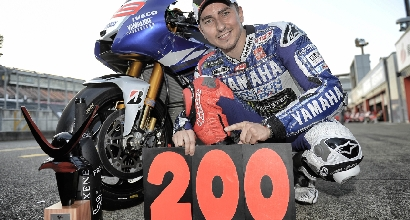 Yamaha 200 vittorie MotoGP foto Yamaha