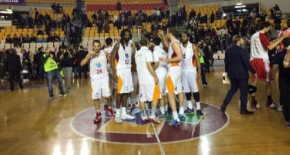Basket, Serie A: colpaccio Roma, affondata Reggio