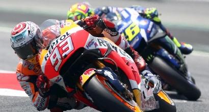Marquez e Rossi (LaPresse)