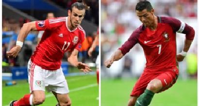 Euro 2016, c'è Portogallo-Galles: Ronaldo-Bale, è sfida finale