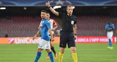 Champions Roma con lo Shakhtar arbitra lo scozzese Collum