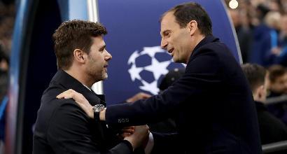 """Tottenham-Juventus 1-2, Allegri: """"Abbiamo colpito al momento giusto"""""""