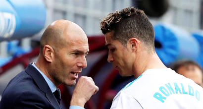 "Real,Zizou: ""Avrei evitato la Juve"""