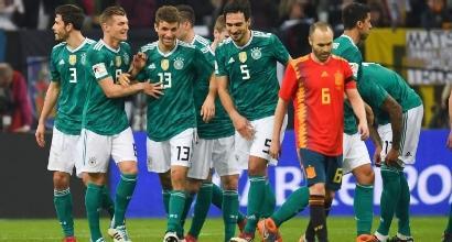 Amichevoli: pari tra Germania e Spagna, sorride l'Inghilterra