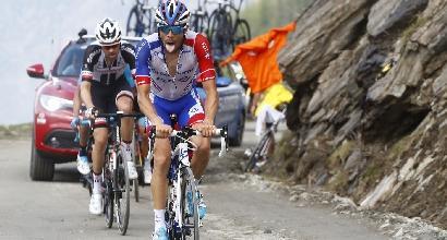 Giro d'Italia: Pinot ricoverato in ospedale