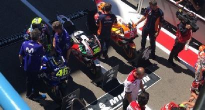 "MotoGP, Rossi: ""Sto guidando bene"""