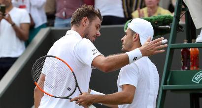 Wimbledon: Fabbiano, che impresa