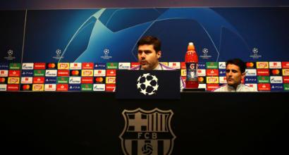 """Tottenham, Pochettino: """"Dipende tutto da noi, non penso a chi giocherà nel Barça"""""""