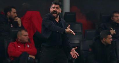 """Milan, Gattuso: """"Temevo questa sfida. Terzo posto? Metterei la firma per arrivare quarti dietro l'Inter"""""""
