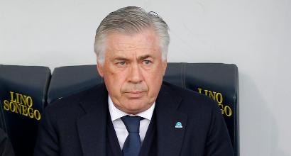 """Napoli, Ancelotti: """"Abbiamo giocato con timore, ora testa all'Arsenal"""""""