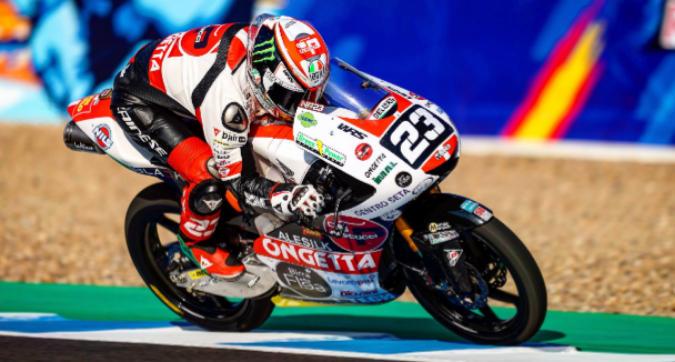 Moto3 Spagna, doppietta per il team Sic58 con Antonelli e Suzuki